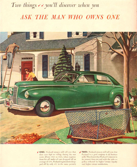 Packard Two Things To Discover 1946 | Vintage Cars 1891-1970