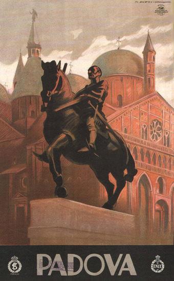 Padova Dome Italy Italia | Vintage Travel Posters 1891-1970