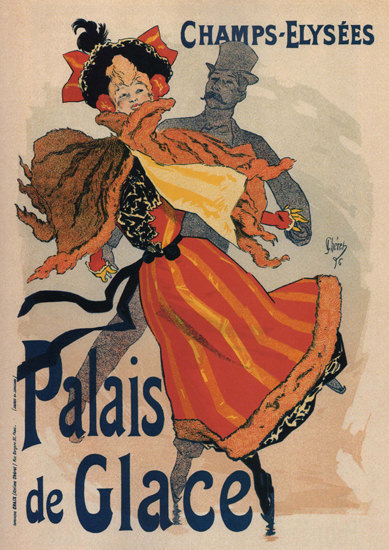 Palais De Glace Champs-Elisees Paris Ice Skating | Sex Appeal Vintage Ads and Covers 1891-1970