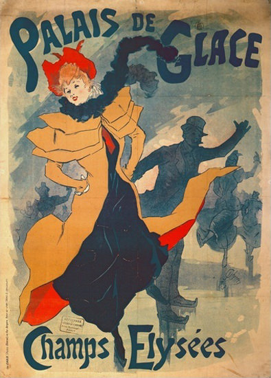 Palais De Glace  Champs Elysees | Sex Appeal Vintage Ads and Covers 1891-1970