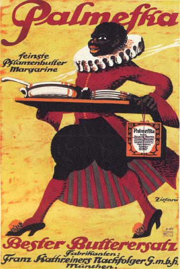 Palmeska Margarine Butterersatz Muenchen | Vintage Ad and Cover Art 1891-1970