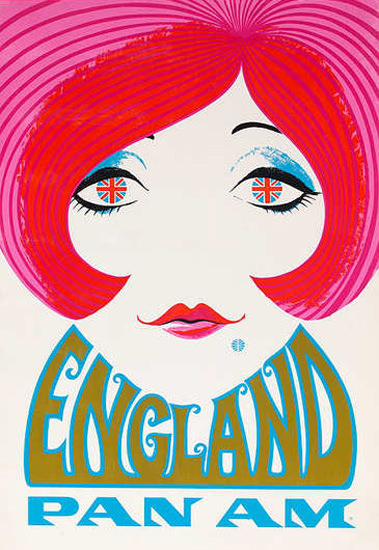 Pan Am England 1960s | Sex Appeal Vintage Ads and Covers 1891-1970