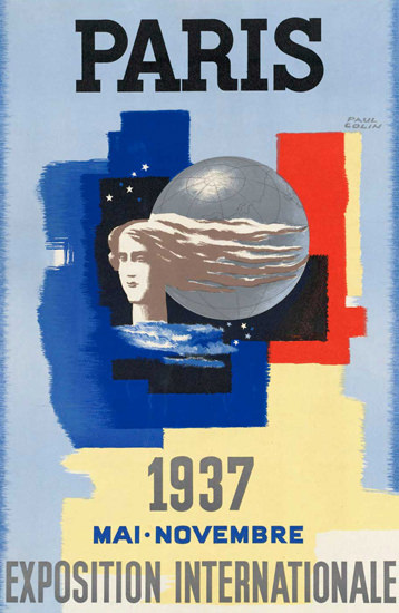 Paris Exposition Internationale 1937 | Vintage Ad and Cover Art 1891-1970