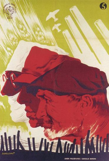 Partido Comunista De Espana Espana Professions | Vintage War Propaganda Posters 1891-1970