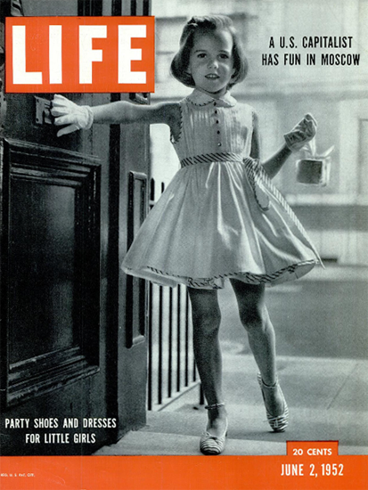 Parts Shoes and Dresses for little Girls 2 Jun 1952 Copyright Life Magazine | Life Magazine BW Photo Covers 1936-1970