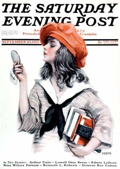 Paul Stahr Artist Saturday Evening Post 1921_09_10 | The Saturday Evening Post Graphic Art Covers 1892-1930