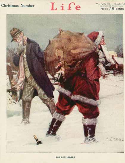 Paul Stahr Life Humor Magazine 1919-12-04 Copyright | Life Magazine Graphic Art Covers 1891-1936