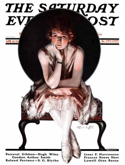 Pearl L Hill Saturday Evening Post The Ballerina 1923_04_14 Sex Appeal | Sex Appeal Vintage Ads and Covers 1891-1970