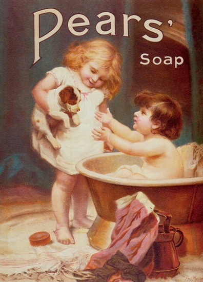 Pears Soap Dogs Turn Next   Vintage Ad and Cover Art 1891-1970