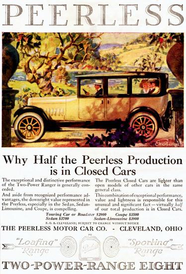 Peerless Model 56 Sedan Limousine 1919 | Vintage Cars 1891-1970