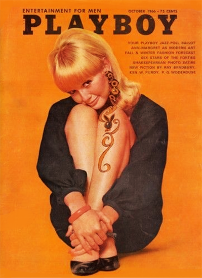 Penny James Playboy Magazine 1966-10 Copyright Sex Appeal | Sex Appeal Vintage Ads and Covers 1891-1970