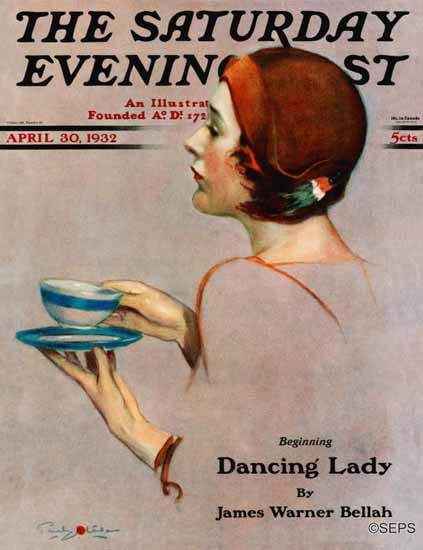 Penrhyn Stanlaws Cover Artist Saturday Evening Post 1932_04_30 | The Saturday Evening Post Graphic Art Covers 1931-1969