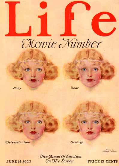 Penrhyn Stanlaws Life Humor Magazine 1923-06-14 Copyright | Life Magazine Graphic Art Covers 1891-1936