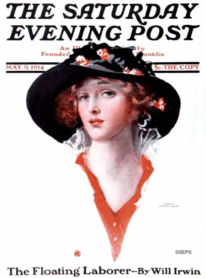 Penrhyn Stanlaws Saturday Evening Post 1914_05_09 | The Saturday Evening Post Graphic Art Covers 1892-1930