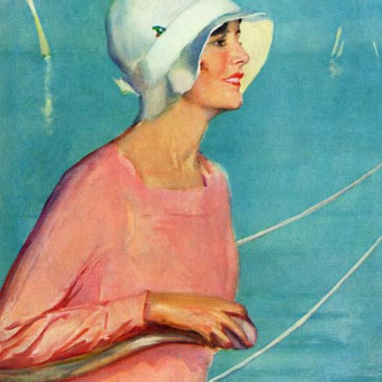 Penrhyn Stanlaws Saturday Evening Post 1929_08_17 Copyright crop | Best of Vintage Cover Art 1900-1970