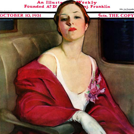 Penrhyn Stanlaws Saturday Evening Post 1931_10_10 Copyright crop | Best of 1930s Ad and Cover Art