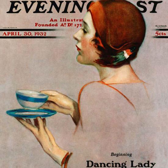 Penrhyn Stanlaws Saturday Evening Post 1932_04_30 Copyright crop | Best of Vintage Cover Art 1900-1970