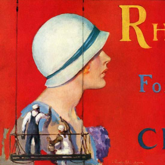 Penrhyn Stanlaws Saturday Evening Post 1932_07_09 Copyright crop | Best of Vintage Cover Art 1900-1970