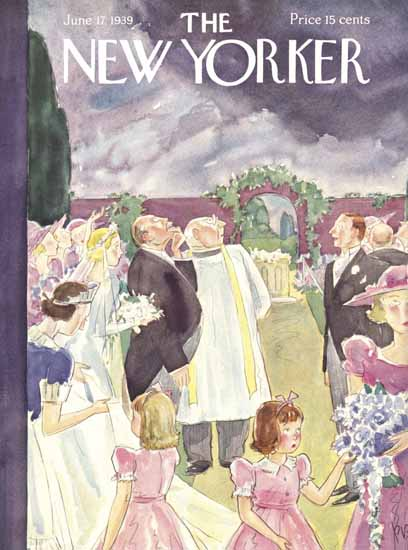 Perry Barlow The New Yorker 1939_06_17 Copyright | The New Yorker Graphic Art Covers 1925-1945