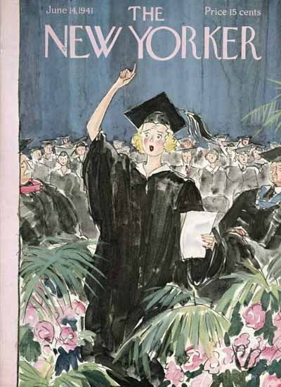 Perry Barlow The New Yorker 1941_06_14 Copyright | The New Yorker Graphic Art Covers 1925-1945