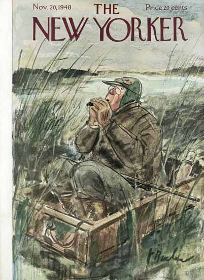 Perry Barlow The New Yorker 1948_11_20 Copyright | The New Yorker Graphic Art Covers 1946-1970