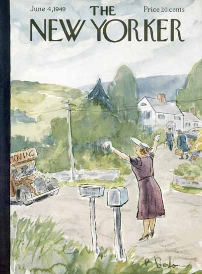 Perry Barlow The New Yorker 1949_06_04 Copyright | The New Yorker Graphic Art Covers 1946-1970