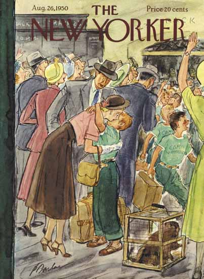 Perry Barlow The New Yorker 1950_08_26 Copyright | The New Yorker Graphic Art Covers 1946-1970