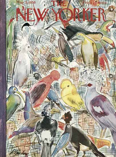 Perry Barlow The New Yorker 1956_05_05 Copyright   The New Yorker Graphic Art Covers 1946-1970