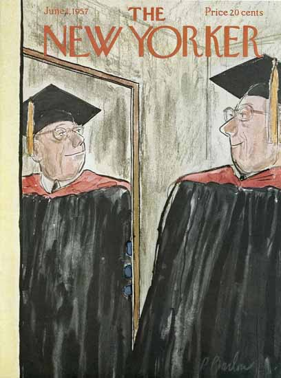 Perry Barlow The New Yorker 1957_06_01 Copyright | The New Yorker Graphic Art Covers 1946-1970