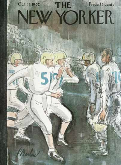 Perry Barlow The New Yorker 1962_10_13 Copyright | The New Yorker Graphic Art Covers 1946-1970