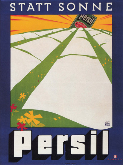Persil Statt Sonne Austria Washing Powder | Vintage Ad and Cover Art 1891-1970