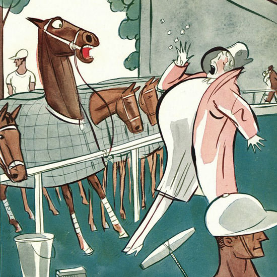 Peter Arno The New Yorker 1928_08_11 Copyright crop | Best of 1920s Ad and Cover Art