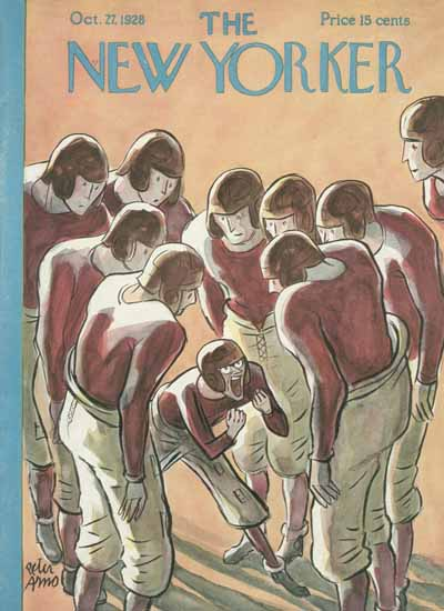 Peter Arno The New Yorker 1928_10_27 Copyright | The New Yorker Graphic Art Covers 1925-1945