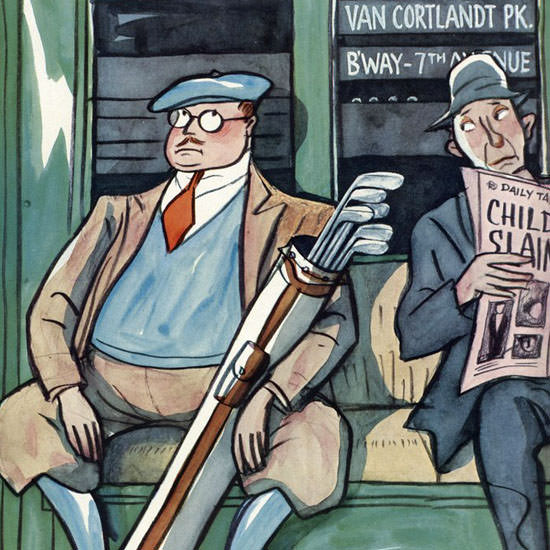 Peter Arno The New Yorker 1930_05_31 Copyright crop | Best of 1930s Ad and Cover Art