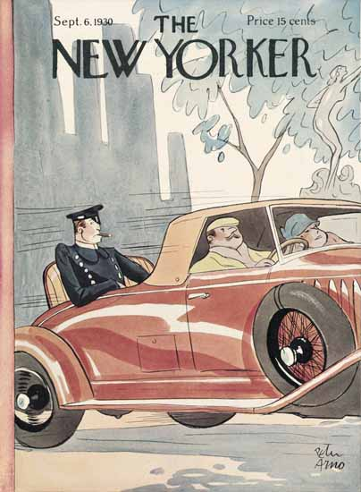 Peter Arno The New Yorker 1930_09_06 Copyright | The New Yorker Graphic Art Covers 1925-1945
