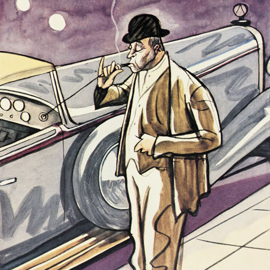 Peter Arno The New Yorker 1931_01_17 Copyright crop | Best of Vintage Cover Art 1900-1970
