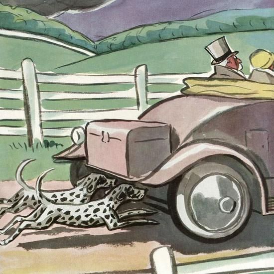 Peter Arno The New Yorker 1933_10_07 Copyright crop | Best of 1930s Ad and Cover Art