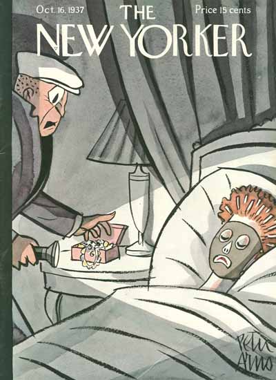 Peter Arno The New Yorker 1937_10_16 Copyright | The New Yorker Graphic Art Covers 1925-1945