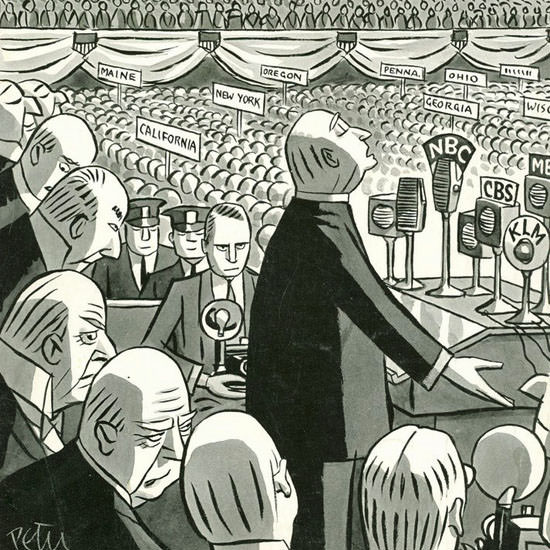 Peter Arno The New Yorker 1940_06_22 Copyright crop | Best of Vintage Cover Art 1900-1970