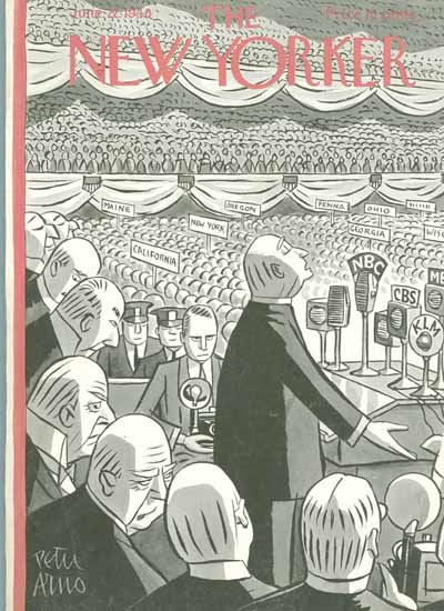 Peter Arno The New Yorker 1940_06_22 Copyright | The New Yorker Graphic Art Covers 1925-1945