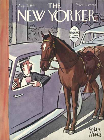 Peter Arno The New Yorker 1941_08_02 Copyright | The New Yorker Graphic Art Covers 1925-1945