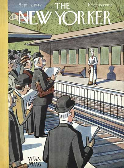 Peter Arno The New Yorker 1942_09_12 Copyright | The New Yorker Graphic Art Covers 1925-1945