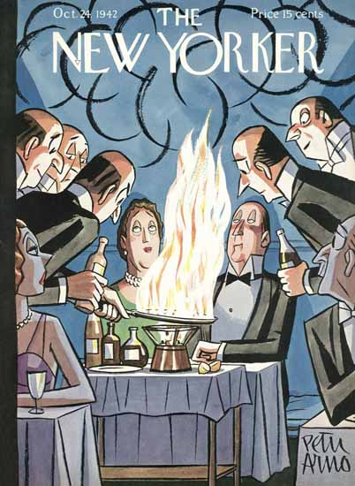 Peter Arno The New Yorker 1942_10_24 Copyright | The New Yorker Graphic Art Covers 1925-1945