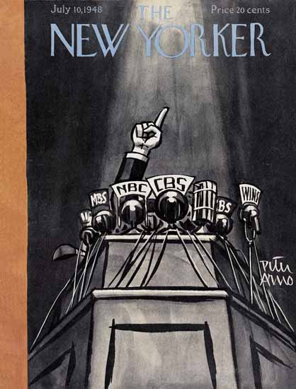 Peter Arno The New Yorker 1948_07_10 Copyright | The New Yorker Graphic Art Covers 1946-1970