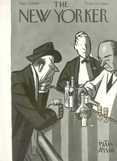 Peter Arno The New Yorker 1950_03_11 Copyright | The New Yorker Graphic Art Covers 1946-1970