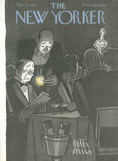 Peter Arno The New Yorker 1951_03_17 Copyright | The New Yorker Graphic Art Covers 1946-1970