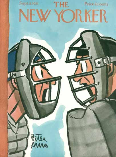 Peter Arno The New Yorker 1951_09_08 Copyright   The New Yorker Graphic Art Covers 1946-1970