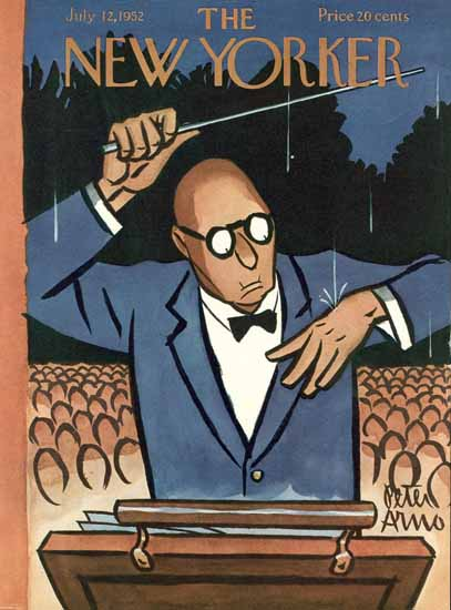 Peter Arno The New Yorker 1952_07_12 Copyright | The New Yorker Graphic Art Covers 1946-1970