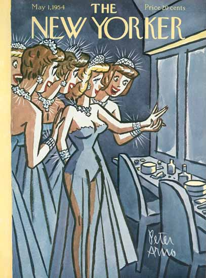 Peter Arno The New Yorker 1954_05_01 Copyright   The New Yorker Graphic Art Covers 1946-1970