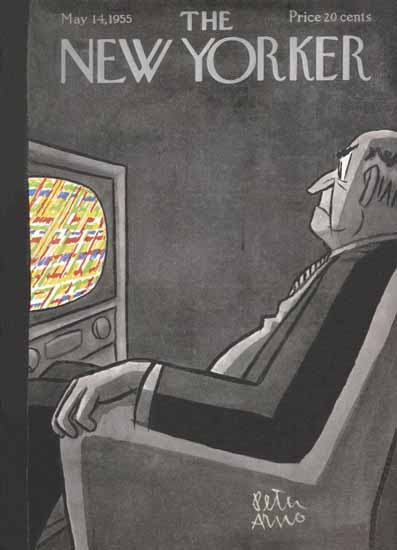 Peter Arno The New Yorker 1955_05_14 Copyright | The New Yorker Graphic Art Covers 1946-1970